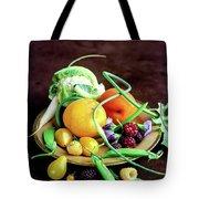 Seasonal Fruit And Vegetables Tote Bag