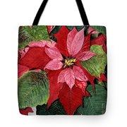 Seasonal Scarlet Tote Bag