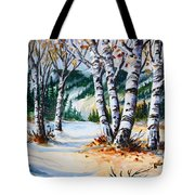 Seasonal Transition Tote Bag