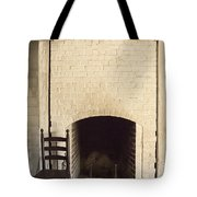 Seat By The Hearth Tote Bag by Margie Hurwich
