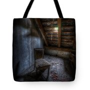 Seat In Darkenss Tote Bag