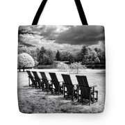 Seating For Six Tote Bag