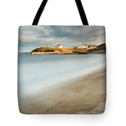 Seaton Sluice In Smooth Water Tote Bag