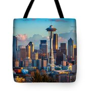 Seattle Afternoon Tote Bag