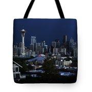 Seattle Blues Tote Bag