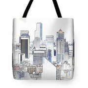 Seattle City Original Work Tote Bag