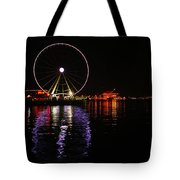Seattle Ferris Wheel  Tote Bag