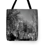 Seattle From Pioneer Square Tote Bag