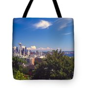 Seattle From Queen Anne Hill Tote Bag