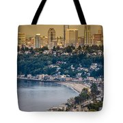 Seattle From The Air Tote Bag