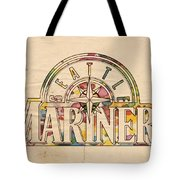 Seattle Mariners Poster Art Tote Bag
