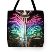 Seattle New Year Tote Bag