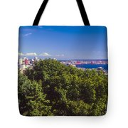 Seattle On Puget Sound Tote Bag