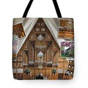 Seattle Organ  Tote Bag