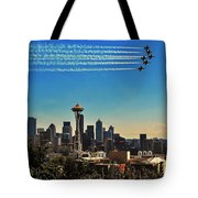 Seattle Seafair Tote Bag