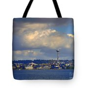 Seattle Skyline 2 Tote Bag