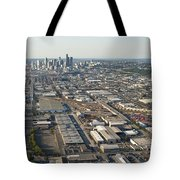 Seattle Skyline And South Industrial Area Tote Bag