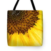 Seattle Sunflower Close-up Tote Bag