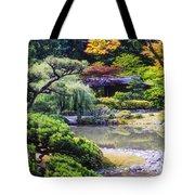 Seattle Tea Garden Tote Bag