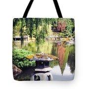 Seattle Tea Garden Reflections Tote Bag