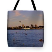 Seattle Waterfront 2 Tote Bag