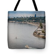 Seattle Waterfront 3 Tote Bag