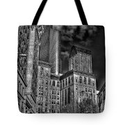 Seattle's Old And New Tote Bag