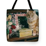 Sebestian And The Old Roses Tote Bag