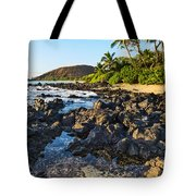 Secluded Beach Tote Bag