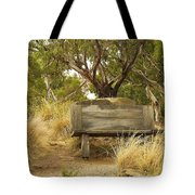Secluded Bench Tote Bag