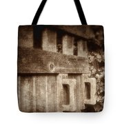 Secluded Garden Tote Bag
