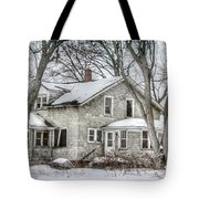 Secluded Old House Tote Bag