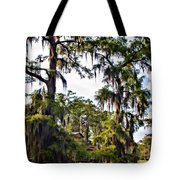 Secluded Retreat Tote Bag
