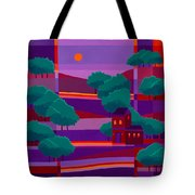Secluded Villa Tote Bag