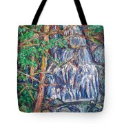 Secluded Waterfall Tote Bag