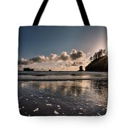 Second Beach Light And Current Tote Bag