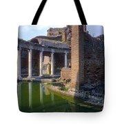 Second Century Villa Of Emperor Hadrian  Tote Bag