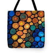 Second Chances - Abstract Art By Sharon Cummings Tote Bag