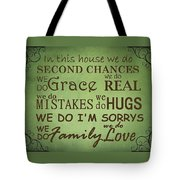 Second Chances In This House Tote Bag