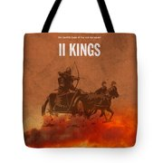 Second Kings Books Of The Bible Series Old Testament Minimal Poster Art Number 12 Tote Bag