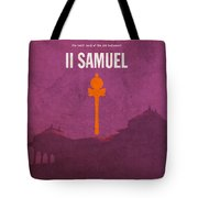 Second Samuel Books Of The Bible Series Old Testament Minimal Poster Art Number 10 Tote Bag