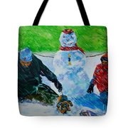 Second Snow Tote Bag