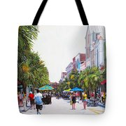 Second Sunday On King St. Tote Bag