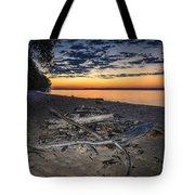 Seconds Before Potomac Sunrise Tote Bag