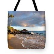 Secret Beach At Sunset Tote Bag