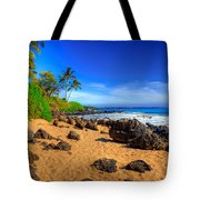 Secret Beach Maui Tote Bag