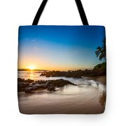 Secret Beach Sunset Tote Bag