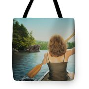 Secret Cove Tote Bag by Holly Kallie