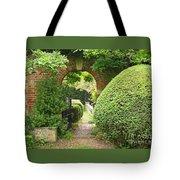 Secret English Garden Tote Bag