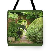 Secret English Garden Tote Bag